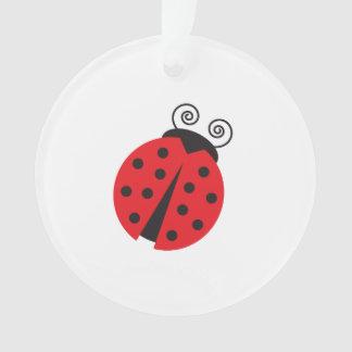 Cute Little Ladybug Ornament
