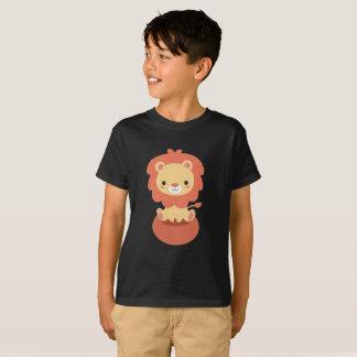 Cute Little Lion Kids T-shirt Design