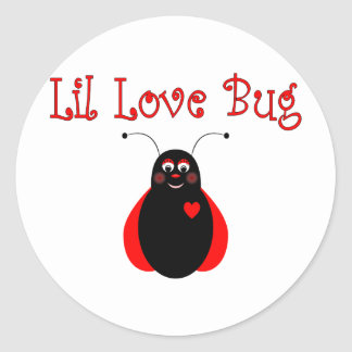 Cute Little Love Bug Ladybug Sticker