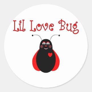 Cute Little Love Bug Ladybug Sticker