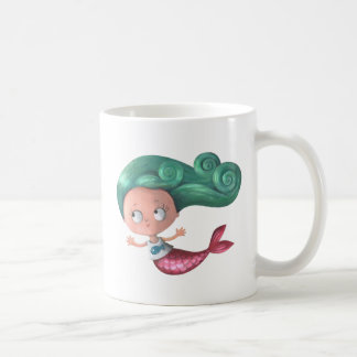 Cute Little Mermaid Coffee Mug