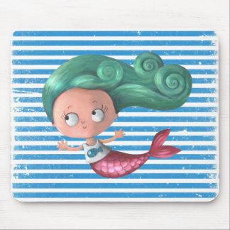 Cute Little Mermaid Mouse Mat