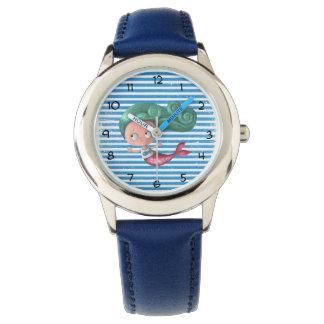 Cute Little Mermaid Watch