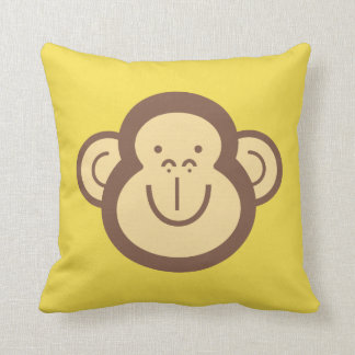 Cute Little Monkey Face Decorative Cushion