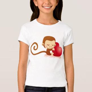 Cute little monkey in love T-Shirt