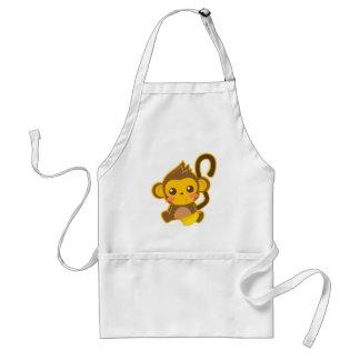 Cute Little Monkey Standard Apron
