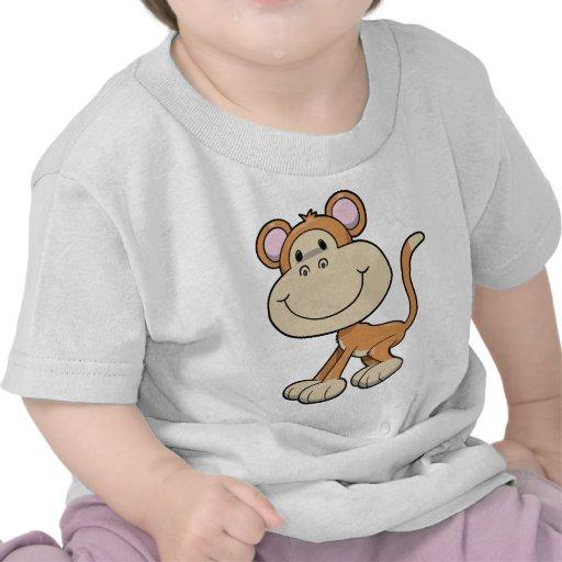 Cute Little Monkey Tshirts