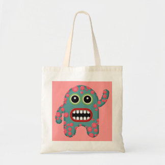 Cute Little Monster Budget Tote Bag