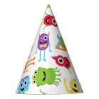 Cute Little Monsters Party Hat