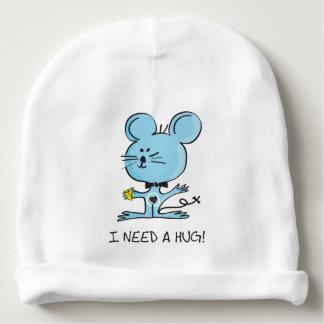 Cute little mouse needs a hug! baby beanie