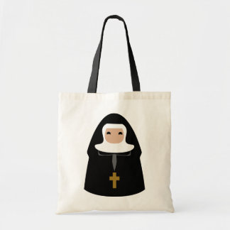 Cute Little Nuns Tote Bag