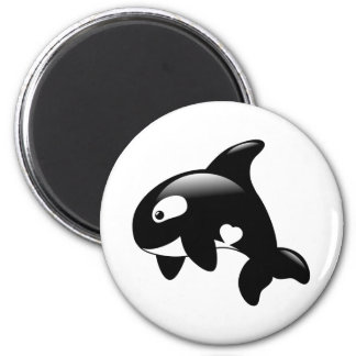 Cute Little Orca Whale Magnet