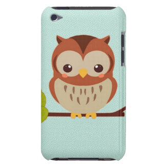 Cute Little Owl iPod Touch Cover