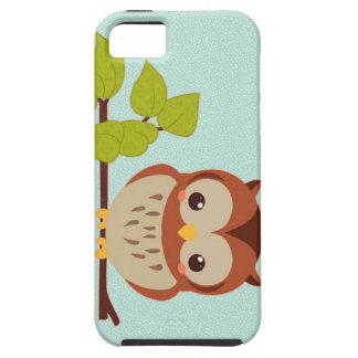 Cute Little Owl Tough iPhone 5 Case