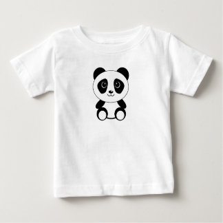 Cute Little Panda Baby Shirt