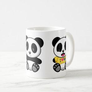 Cute Little Pandas Coffee Mug