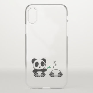 Cute Little Pandas iPhone X Case