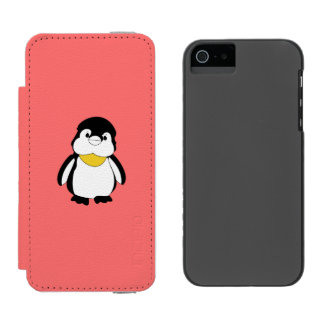 Cute Little Penguin Incipio Watson™ iPhone 5 Wallet Case