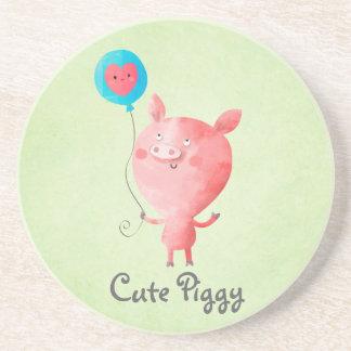 Cute Little Pig Coaster