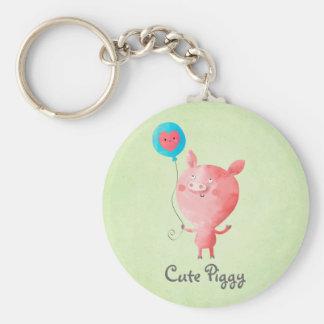 Cute Little Pig Key Chains