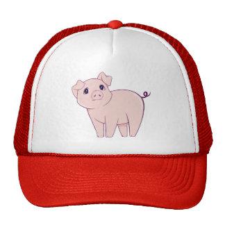 Cute Little Piggy Art Mesh Hat