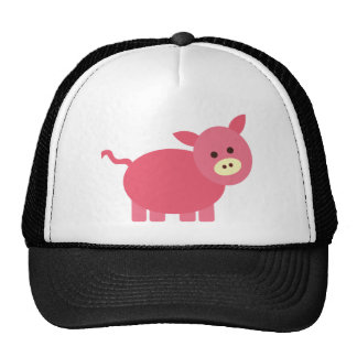 Cute Little Piggy Cap