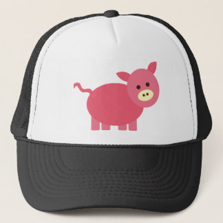 Cute Little Piggy Trucker Hat