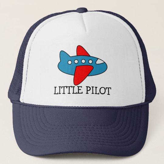 Cute little pilot aeroplane trucker hat for kids