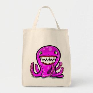 Cute little pink apple octopus bag