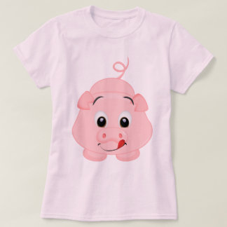 Cute Little Pink Piggy T-Shirt