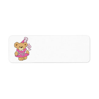Cute Little Pink Princess Bear