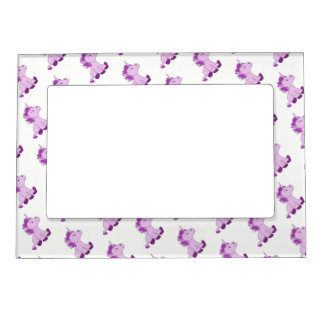 Cute Little Pink Unicorns Magnetic Frame