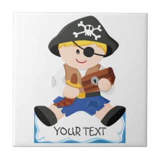 Cute little pirate tile