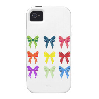 Cute Little Polka Dot Bows iPhone 4/4S Cases