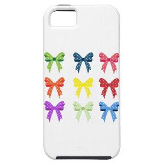 Cute Little Polka Dot Bows iPhone 5 Case