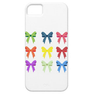 Cute Little Polka Dot Bows iPhone 5 Cover