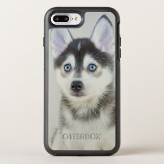 Cute Little Pomsky Puppy OtterBox Symmetry iPhone 8 Plus/7 Plus Case