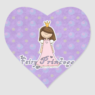 Cute Little Pretty Fairy Princess Stickers