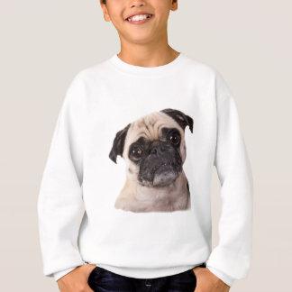 cute little pug dog sweatshirt