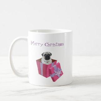Cute little Pug Present Coffee Mug