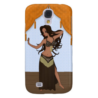 Cute Little Raqs Sharqi Bellydancer Galaxy S4 Case