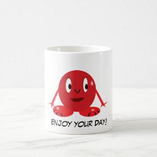 Cute little Red Ball Monster Mug