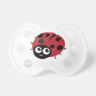 Cute Little Red Ladybug Personalized Dummy
