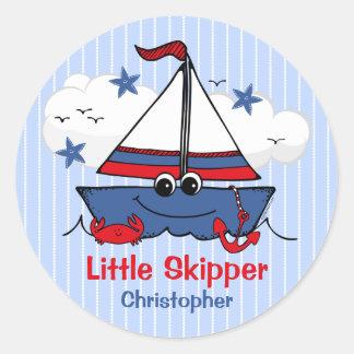 Cute Little Sailboat Sticker
