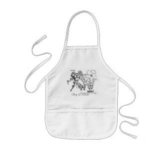 Cute little sheep appron kids apron