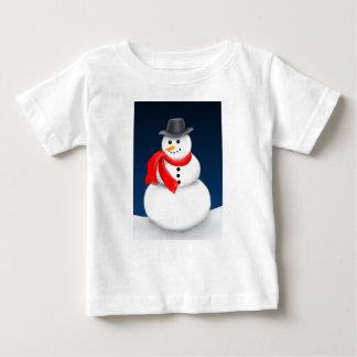 Cute Little Snowman Infant Shirt