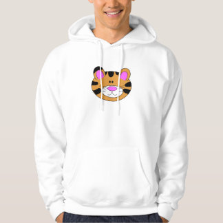 Cute Little Tiger Face Hoodie
