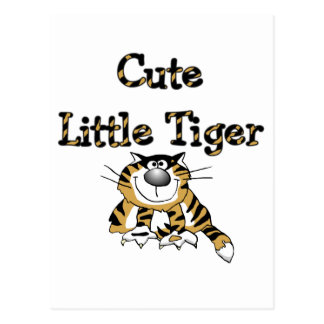 Cute Little Tiger Tshirts and Gifts Post Cards