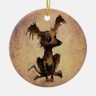 Cute Little Toy Dog Christmas Ornament