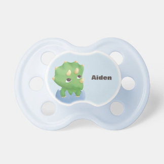 Cute Little Triceratops Dinosaur Baby Pacifier